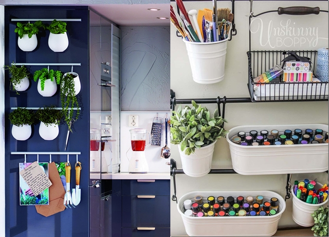 Storage Idea Of The Month Hanging Containers By Ikea