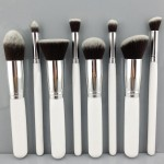 Free-shipping-8PCS-Makeup-Brushes-Cosmetics-Foundation-Blending-Makeup-Brush-Kit-Set-Wooden-Makeup-tool