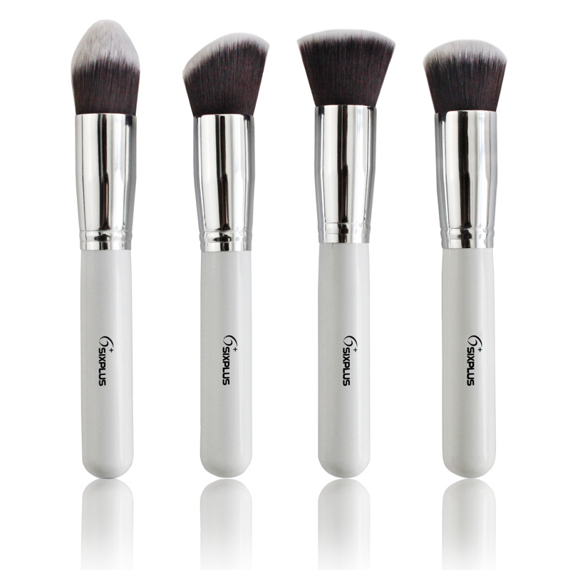Sixplus-Professional-Makeup-Brushes-Set-New-White-Handle-Brand-Cosmetic-Brush-Tool-Wholesale